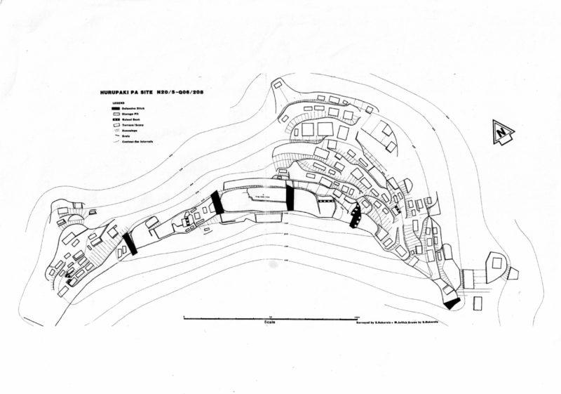 Hurupaki Pa site