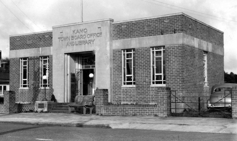 Kamo Town Board and Library